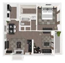 100 The Willow House Plan 1 Bed 1 Bath Apartment For Rent In Houston TX Bayou Park In Houston TX