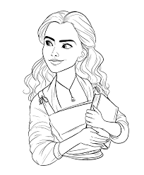 Disney Beauty And The Beast 2017 Coloring Pages