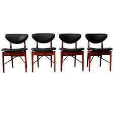 100 Designer High End Dining Chairs Finn Juhl 108 An Orange Moon UBER HIP Vintage