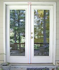 Menards Vinyl Patio Doors by Front Doors At Menards Steel X Full Lite French Patio Door At