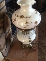 Antique Hurricane Lamp Globes by Antique Hurricane Gone With The Wind Style Globe Lamps 2 Total