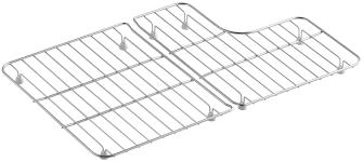 Kohler Stainless Sink Protectors by Kohler Stainless Steel Sink Racks For 30