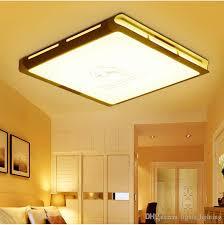 großhandel led wohnzimmer deckenleuchte flache aluminium le moderne minimalistische mode großes schlafzimmer groß 53 53 13 5 cm