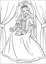 Barbie Princess 04 Coloring Pages Printable And Book To Print For Free Find More Online Kids Adults Of