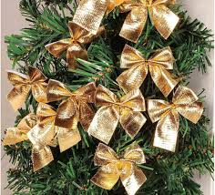 Christmas Bow Decoration Tree Small Butterfly Pendant
