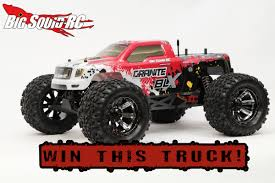 100 Win Truck WIN A ARRMA Granite BLX Big Squid RC RC Car And News