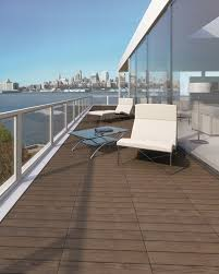 porcelain deck tile balcony contemporary deck san diego by