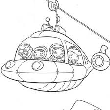 Rocket Become A Cable Car In Little Einstein Coloring Page