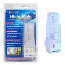 sansai switched low level light 7w home bedroom hallway