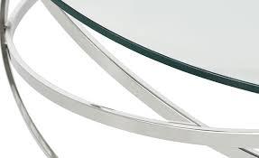couchtisch todor silber maße cm h 35 ø 105 tische
