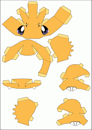 Charmander Papercraft Part 1 By Kira759 On DeviantArt