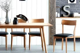 Wood Chair Cushions Dining Table Wooden Room Chairs With Black Leather Plus