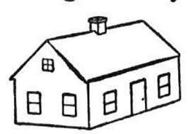 House Coloring Pages 49