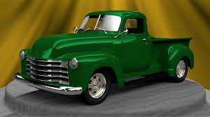 100 1951 Chevy Truck The Tinkers Workshop My Blender 3D Pickup Is
