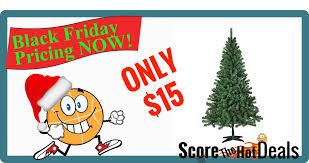 Unlit Christmas Trees Sears by Trim A Home 6 U0027 Peninsula Pine Unlit Christmas Tree Only 15