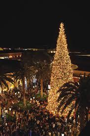 Light Up The Night Annual Tree Lighting At Fashion Island