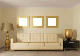yellow furniture collocation for yellow living room 3d