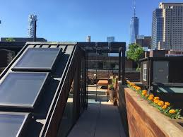 100 Tribeca Roof ROOFTOP DECK NY Section F Design