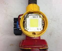 8000 lumen led dewalt flashlight mod 7 steps