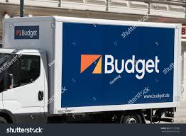 100 Budget Rent Truck Berlin Germany May 18 2017 Stock Photo Edit Now 657137998