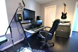 Small Home Studios Music Studio Design Ideas Furniture With Guitar Hanging On White