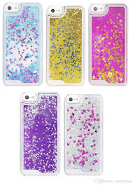 For Iphone 7 Plus 6s Colorful Luxury Bling Transparent Tpu Liquid Glitter Water Sparkly Floating Star Case Soft Back Cover Heavy Duty Cell