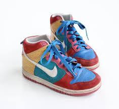 Nike Vintage 90s Multi Color Hi TopsNike