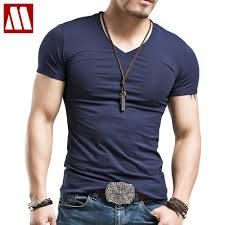 Mens Tops Tees 2018 Summer New Cotton V Neck Short Sleeve T Shirt Men Fashion Trends Fitness Tshirt Free Shipping LT39 Size 5XL In Shirts From