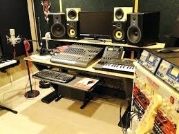 Recording Studio Desk Home 2 Desktop Wallpaper