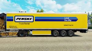 100 Penske Semi Truck Rental Skin For The Refrigerated Trailer For Euro