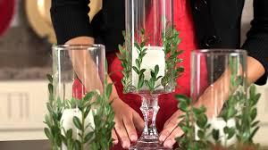 Christmas Tree Decorations Ideas Youtube by Dollar Tree Christmas Craft Idea Vase With Greenery Youtube