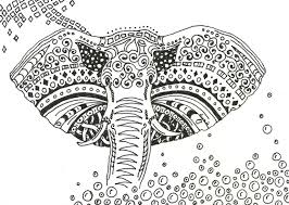 Zentangle Mandala Coloring Pages Only
