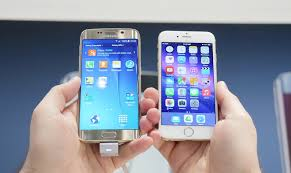 iPhone 6 vs Samsung Galaxy S6 pared in a speed test