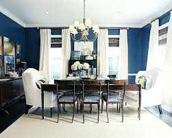 Blue Dining Room Ideas Out In Your New Navy Bringing The Picnic Scenery Inside Grey