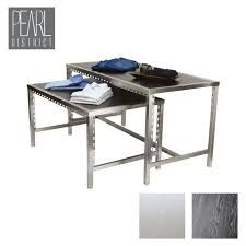 Pearl District Nesting Display Tables