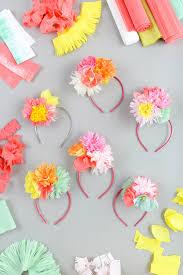 Materials Crepe Paper Tissue Scissors Floral Wire