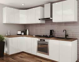 neue küche lamja l form mdf hochglanz grifflos erweiterbar kb
