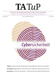 Dieter Knoll Kã Che Planen Tatup 29 1 2020 Cybersicherheit Bedrohung Verwunbarkeit