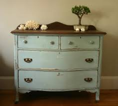 Dresser Update With Annie Sloan Aubusson Blue Old White Chalk Paint Cribstone Cottage