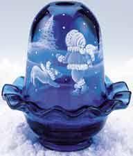 Vintage Fenton Fairy Lamps by Aubergine Fairy Light Michelle Kibbe Design Fairy Lamps