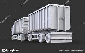 100 Bulk Truck And Transport Large White Separate Trailer Ation Agricultural
