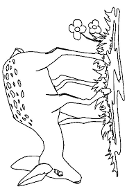 Colouring Woodland Animals Free Coloring Pages Of