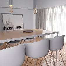 esszimmer mit modernen möbeln 3d modell 69 unknown fbx
