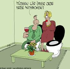 wohnzimmer karikaturen und