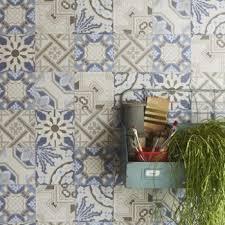 papier peint cuisine leroy merlin papier peint intissé patch de mosaique bleu leroy merlin à