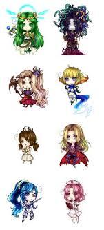 Kid Icarus Girls By Stella TheFox