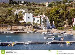 maison dali port lligat house museum salvador dali in cadaques spain editorial image