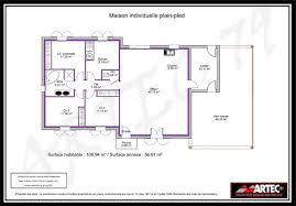 plan maison plain pied 2 chambres plans de maisons constructeur deux s vres plan maison plain pied 2