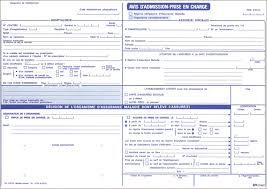 bureau carte assurance maladie sp 4 s 3407 avis d admission prise en charge régime