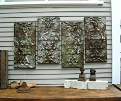 Stylist And Luxury Large Rustic Wall Decor Metal Wood Art For Sale